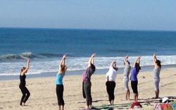 Beach Yoga with REVIVE Wellness